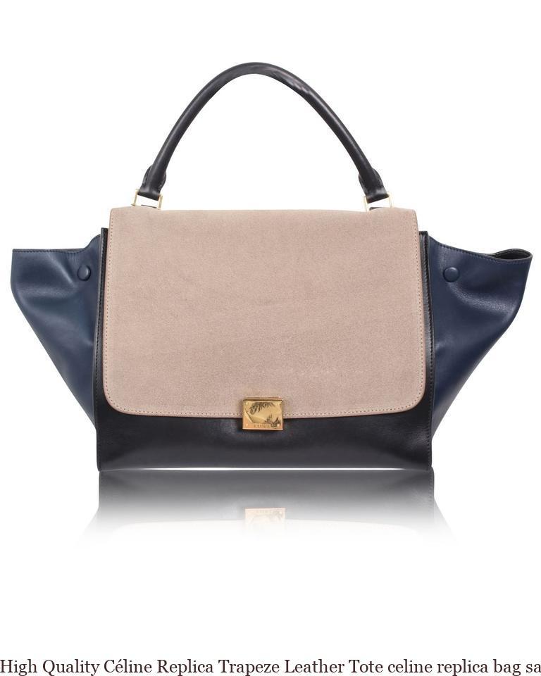 3d7d3feb7c2e High Quality Céline Replica Trapeze Leather Tote celine replica bag sale